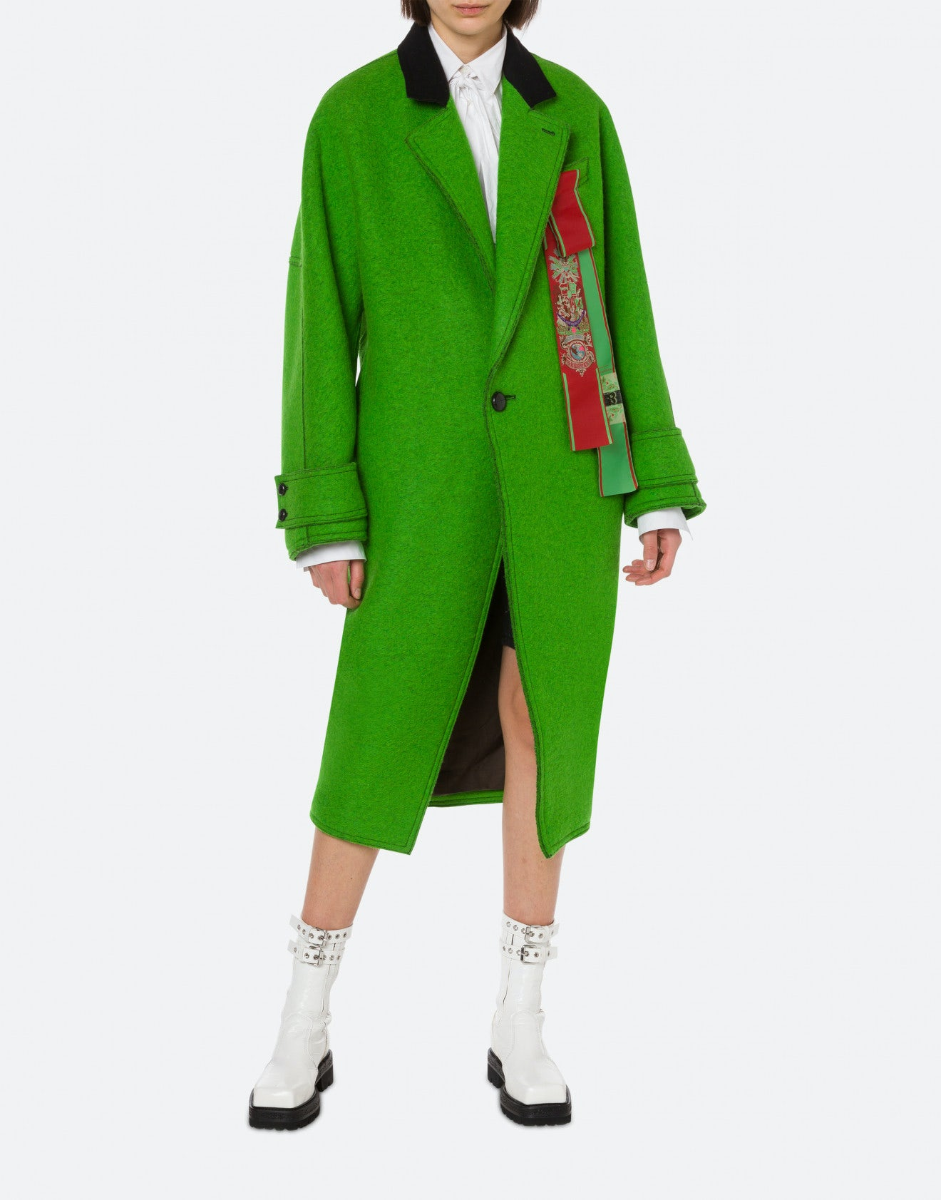 CAPPOTTO ROUNDED IN PANNO DOUBLE