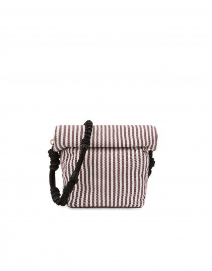Double striped lunch bag