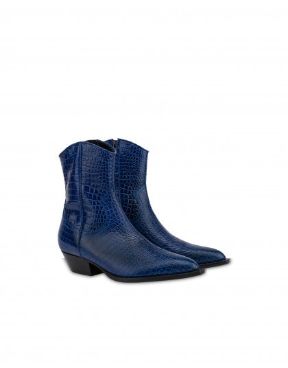 Lorenzo cowboy ankle boots