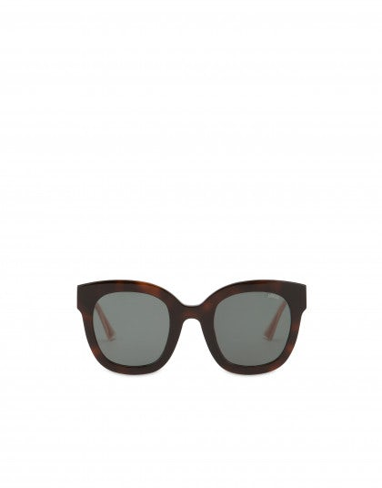 Lily red acetate sunglasses